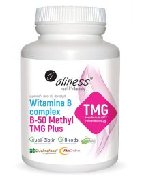 Aliness Witamina B Complex B-50 Methyl TMG PLUS