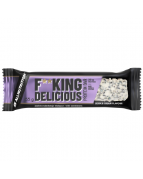 Allnutrition FITKING DELICIOUS PROTEIN BAR 55g COOKIE CREAM