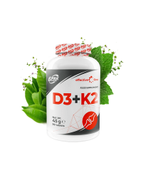 6Pak Nutrition EFFECTIVE LINE D3 + K2 90 tab