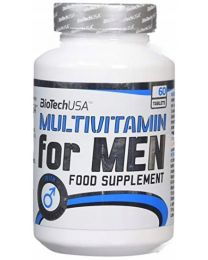 BioTech Multivitamin For Men | 60 tabl.