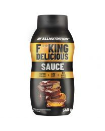 Allnutrition FITKING DELICIOUS SAUCE PEANUT BUTTER CHOCO 540g