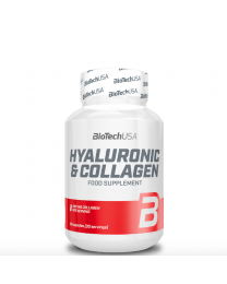 Biotech Hyaluronic and Collagen 30 kaps.