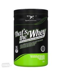 Sport Definition THAT'S THE WHEY – 100% GOAT & SHEEP WHEY PROTEIN BLEND – 600 G