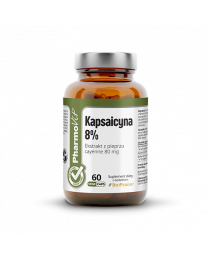 Pharmovit KAPSAICYNA 8% 60 KAPS VCAPS® CLEAN LABEL™