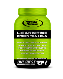 Real Pharm L-CARNITINE GREEN TEA & CLA 90 tab