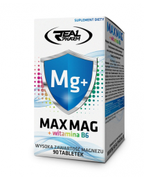 Real Pharm Max Mag + witamina b6 90 tabl