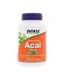 NOW FOODS Acai 500MG 100 vcaps