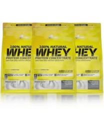 Olimp 100% Natural Whey Protein Concentrate 3 x 700g