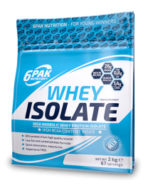 6Pak Nutrition Whey Isolate 2000g