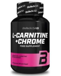 Biotech L-carnitine Chrome 60 kaps
