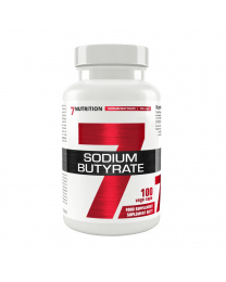 7Nutrition Sodium Butyrate 580mg 100 vege kaps